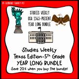 Studies Weekly (Weeks 1-32)- Texas Edition--YEAR LONG BUNDLE-5th Grade