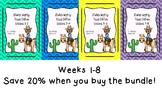 Studies Weekly (Weeks 1-8)- Texas Edition--BUNDLE-3rd Grade