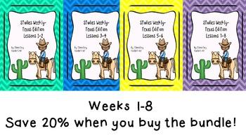 Studies Weekly (Weeks 1-8)- Texas Edition--BUNDLE
