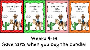 Studies Weekly (Weeks 9-16)- Texas Edition--BUNDLE