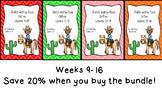 Studies Weekly (Weeks 9-16)- Texas Edition--BUNDLE-3rd Grade