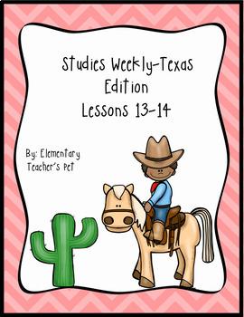 Studies Weekly (Weeks 13-14)- Texas Edition