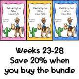 Studies Weekly (Weeks 23-28)- Texas Edition--BUNDLE-3rd Grade