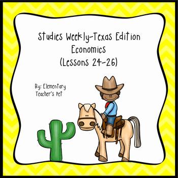 Studies Weekly (Weeks 25-26)- Texas Edition
