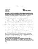 Studies in Drama - Syllabus