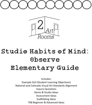 Studio Habits of Mind: Observe k-5 Guide