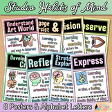 Studio Habits of Mind Posters | Watercolor Printables, Art