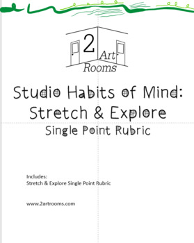 Studio Habits of Mind: Stretch & Explore Single Point Rubric