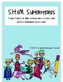 Studio Habits of Mind Superheros