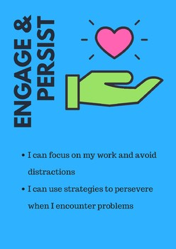 Studio Habits of Mind posters with I CAN Statements