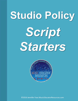 Studio Policy Script Starters