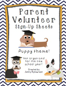 Smart Puppy BUNDLE! Scholar Targets, Friendship Targets, & Volunteer Forms!