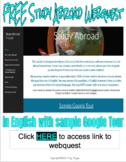 Study Abroad Webquest