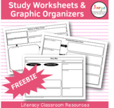 Study Worksheets & Graphic Organizers