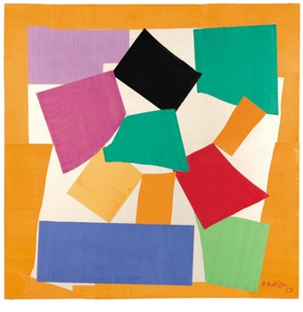 Art lesson Teach Henri Matisse to Pre-k to 3rd The Snail A