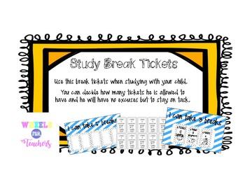 Study Breaks - Tickets