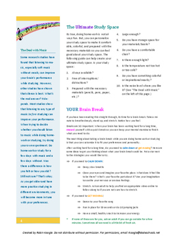 Study Buddy - Study Skills Packet (3rd-5th grade)