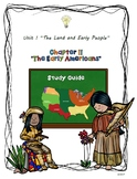 Study Guide 5th Gr S. Studies Chapter 2 Earliest Americans