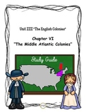 Study Guide 5th Gr S. Studies Chapter 6 The Middle Atlanti