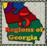 Study Guide - Georgia Habitats/Regions by Liz Clark, GA