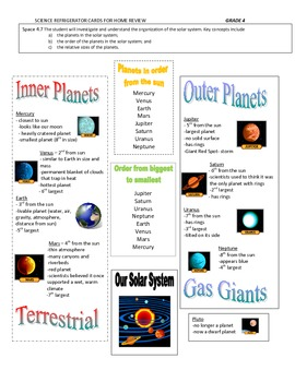 Study Guide Planets