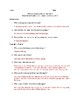 Study Guide Questions and Answers for the novel 13 Reasons Why by Jay Asher