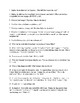 Study Guide Questions for The Kite Runner by Khaled Hosseini