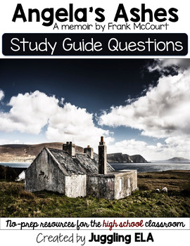 Study Guide Questions and Answers for the memoir Angela's Ashes by Frank McCourt