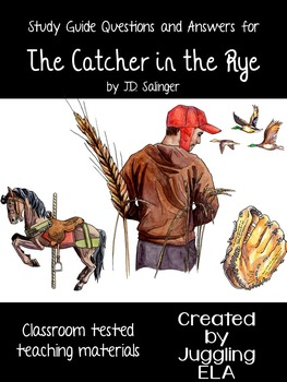 Study Guide Questions with Answers for the novel The Catcher in the Rye