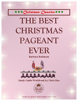 Study Guide: The Best Christmas Pageant Ever Workbook