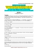 Study Guide: The Return of the King Reproducibles