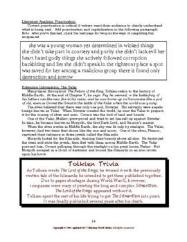 Study Guide: The Return of the King Workbook
