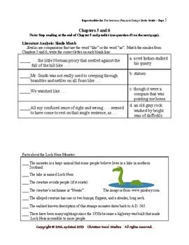 Study Guide: The Secret at Pheasant Cottage Reproducibles