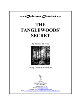 Study Guide: The Tanglewoods' Secret Workbook