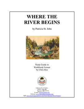 Study Guide: Where the River Begins Workbook