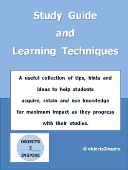 Study Guide and Learning Techniques