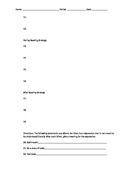 """Study Guide  and skills review for, """"All Summer in a Day."""" by Ray Bradbury"""