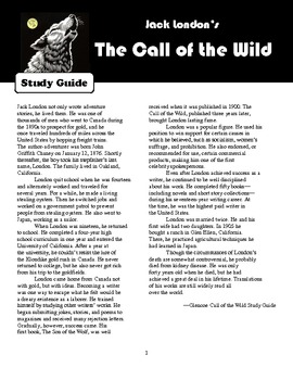 "Study Guide for ""Call of the Wild"" by Jack London"