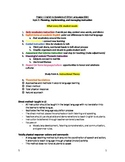 Study Guide for ESOL Praxis II 0361 Test- TOPIC 2