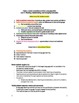 study guide for esol praxis ii 0361 test topic 2 tpt rh teacherspayteachers com study guides for praxis 2 ela middle school study guide for praxis 2 elementary education content knowledge