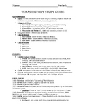 Study Guide for End of Year Exam