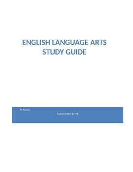 Study Guide for English Language Arts State Tests; GED, OGT Air Test
