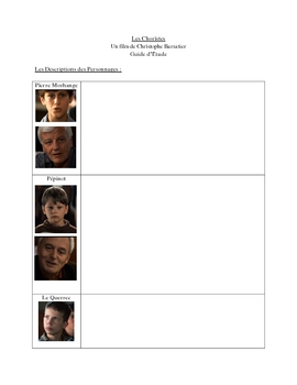 "Study Guide for French Film ""Les Choristes"" (10 Pages)"