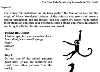 The Great Cake Mystery, by Alexander McCall Smith -Study Guide