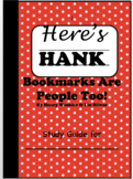 Study Guide for Here's Hank Bookmarks are People Too!