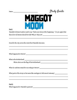 Study Guide for Maggot Moon by Sally Gardner