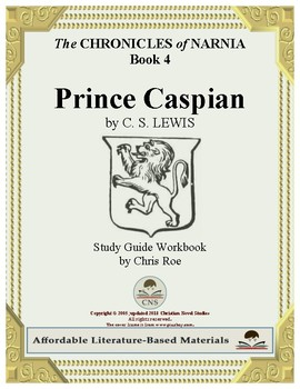 Study Guide for Narnia: Prince Caspian Workbook