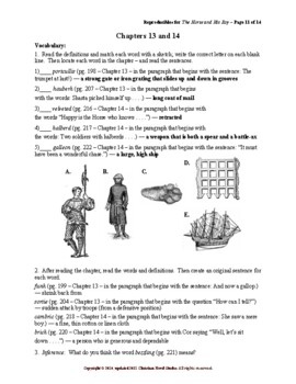 Study Guide for Narnia: The Horse and His Boy Reproducibles