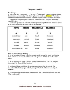 Study Guide for Narnia: The Last Battle Interactive