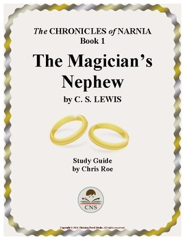 Study Guide for Narnia: The... by Christian Novel Studies ...